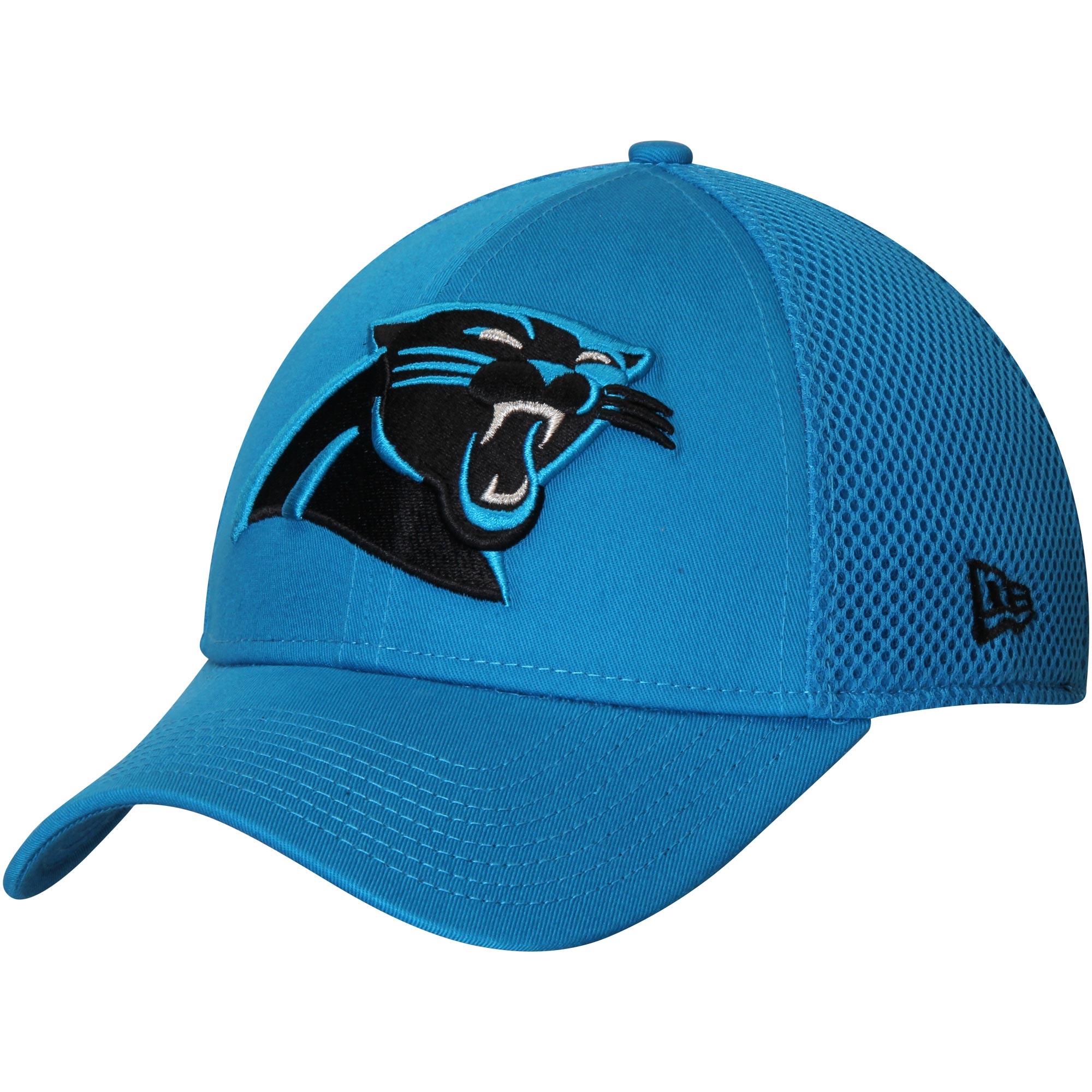 Carolina Panthers New Era Mega Team Neo 39THIRTY Flex Hat - Blue