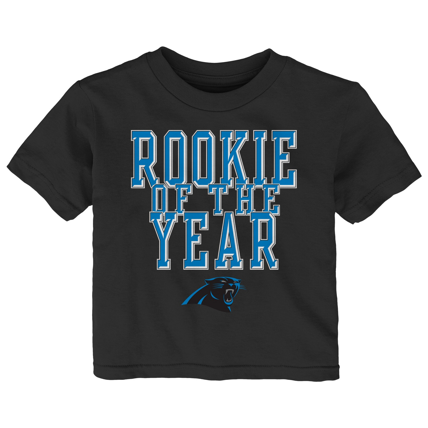 Carolina Panthers Toddler Rookie Of The Year T-Shirt - Black