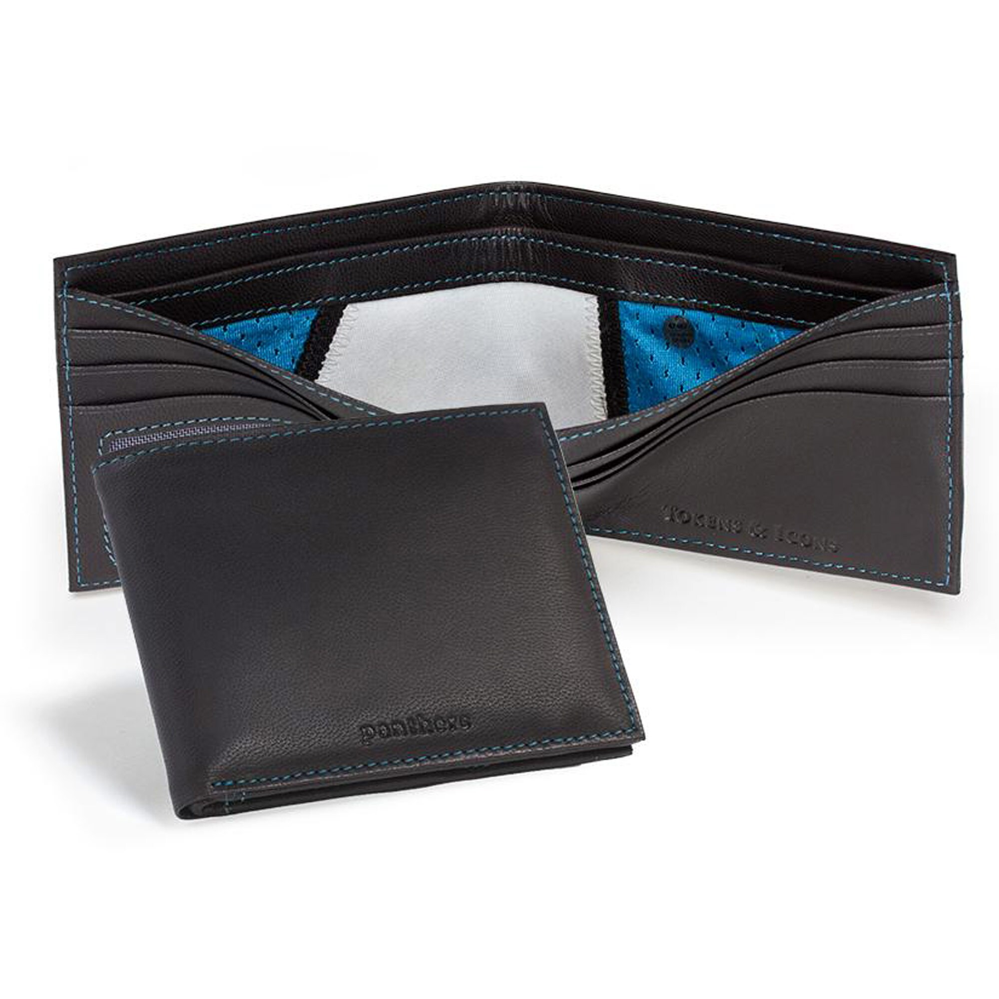 Carolina Panthers Tokens & Icons Game-Used Uniform Leather Wallet