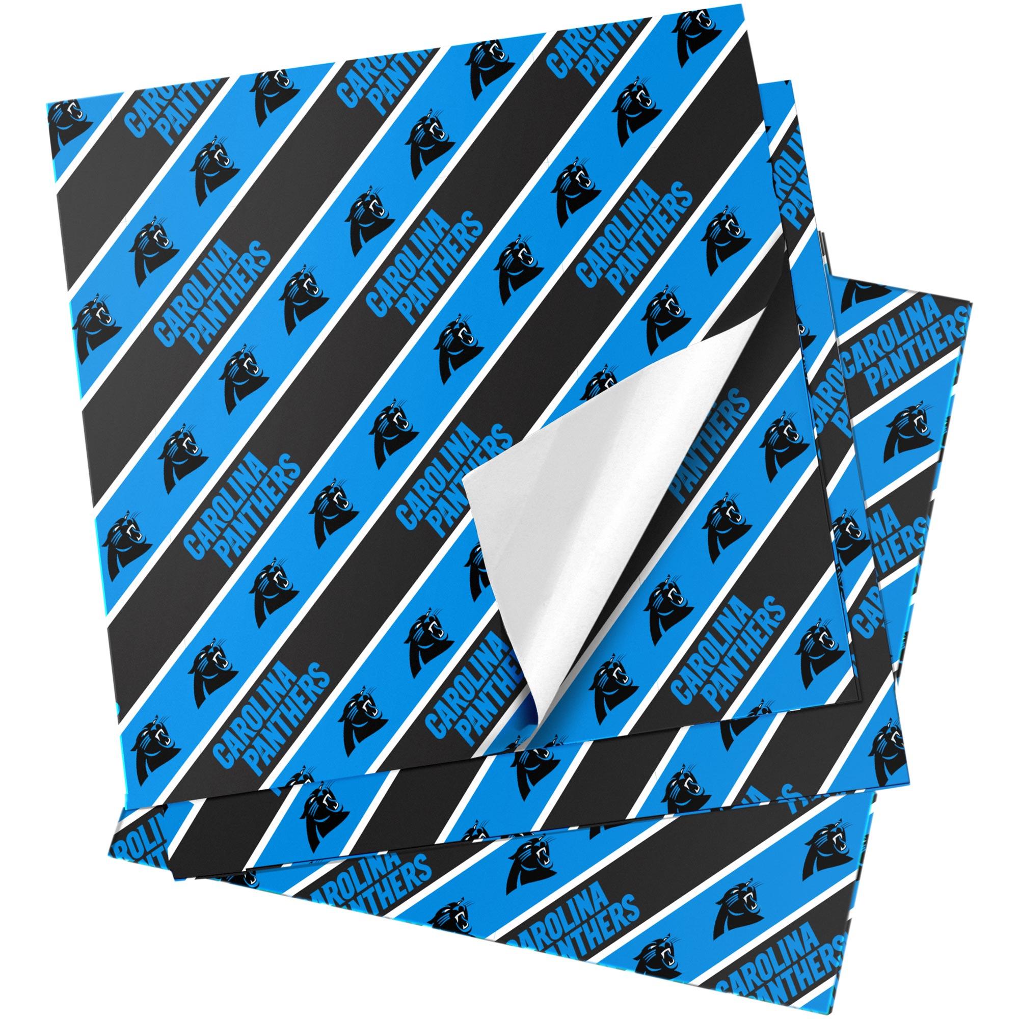 "Carolina Panthers 20"" x 30"" Wrapping Paper"