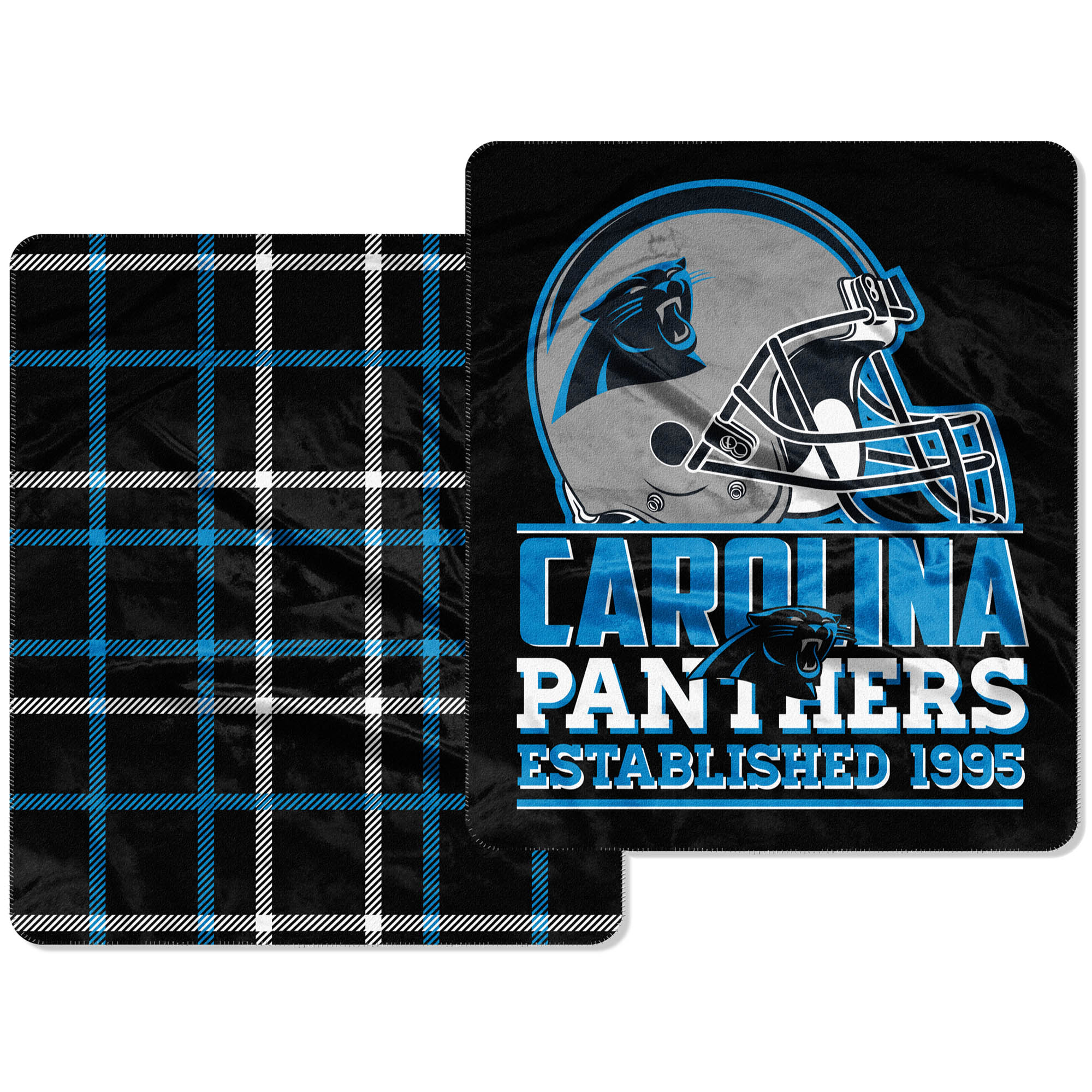 Carolina Panthers The Northwest Company Home Field Cloud 60'' x 70'' Double-Sided Plush Throw Blanket