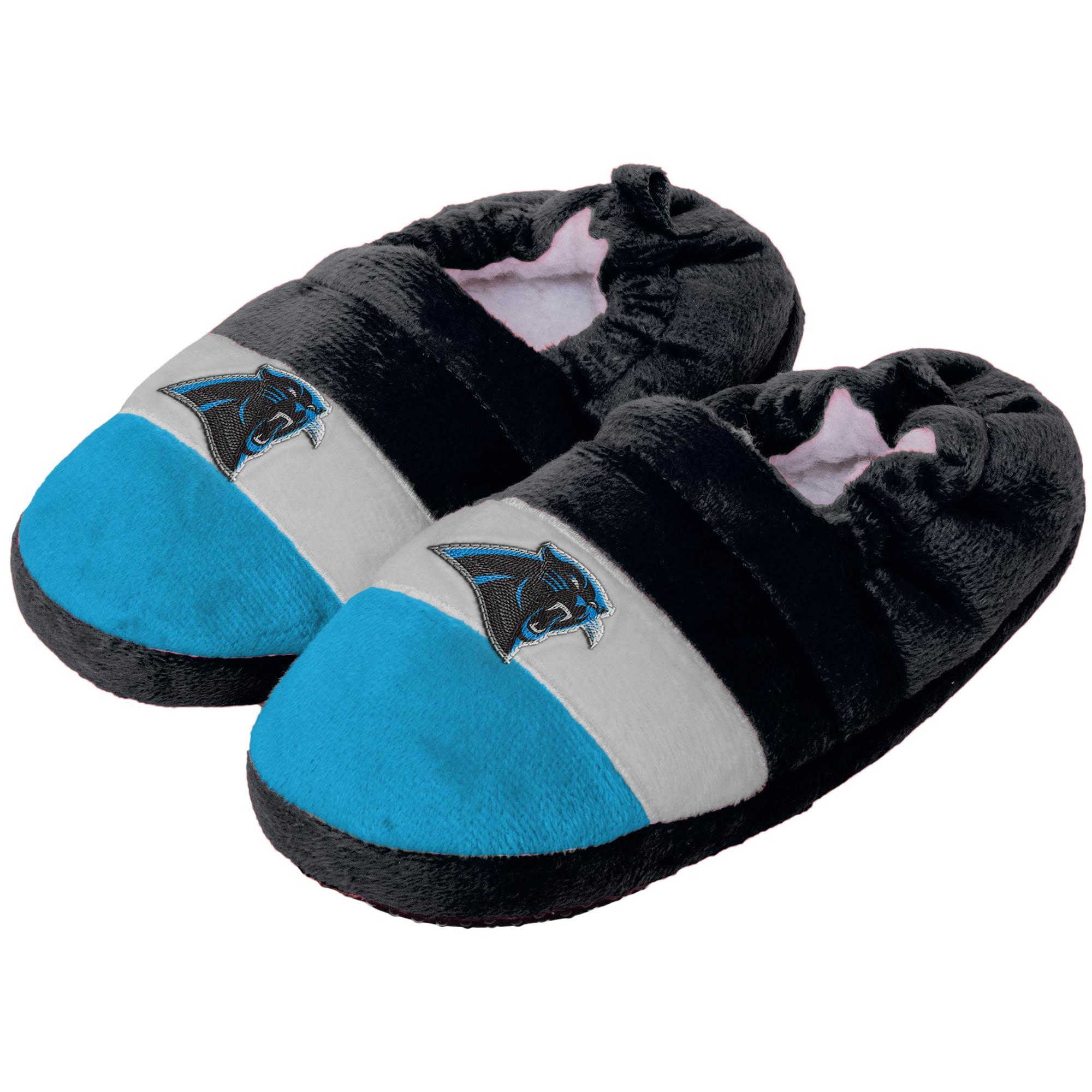 Carolina Panthers Toddler Color Block Close Back Slippers