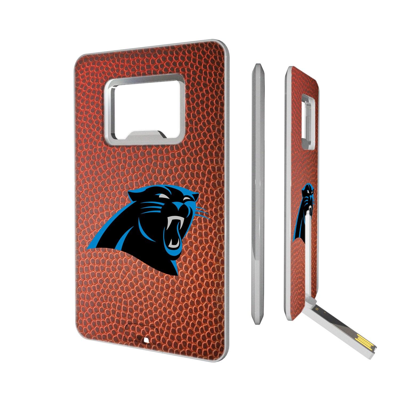 Carolina Panthers Football Credit Card USB Drive & Bottle Opener