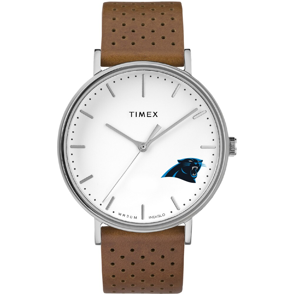 Carolina Panthers Timex Bright Whites Tribute Collection Watch