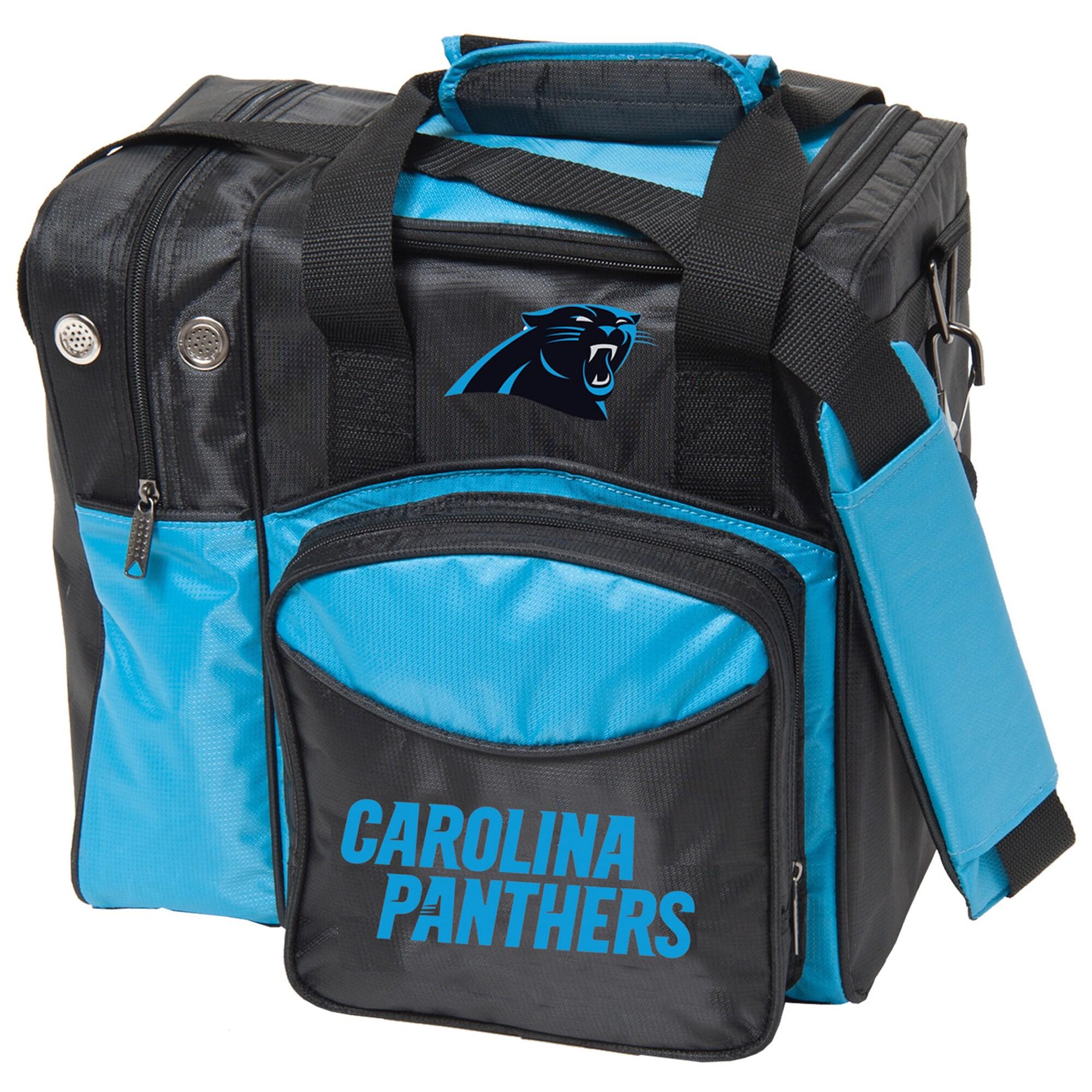 Carolina Panthers Single Ball Bowling Tote