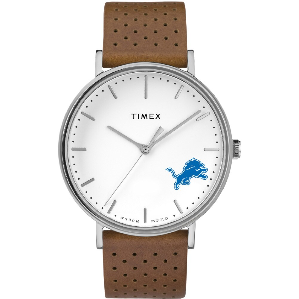 Detroit Lions Timex Bright Whites Tribute Collection Watch