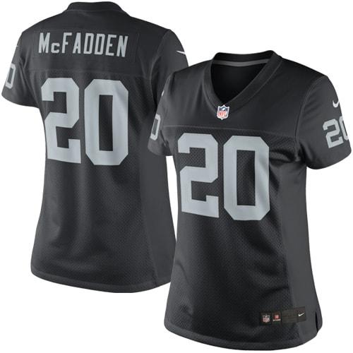 Darren McFadden Las Vegas Raiders Nike Women's Limited Jersey - Black