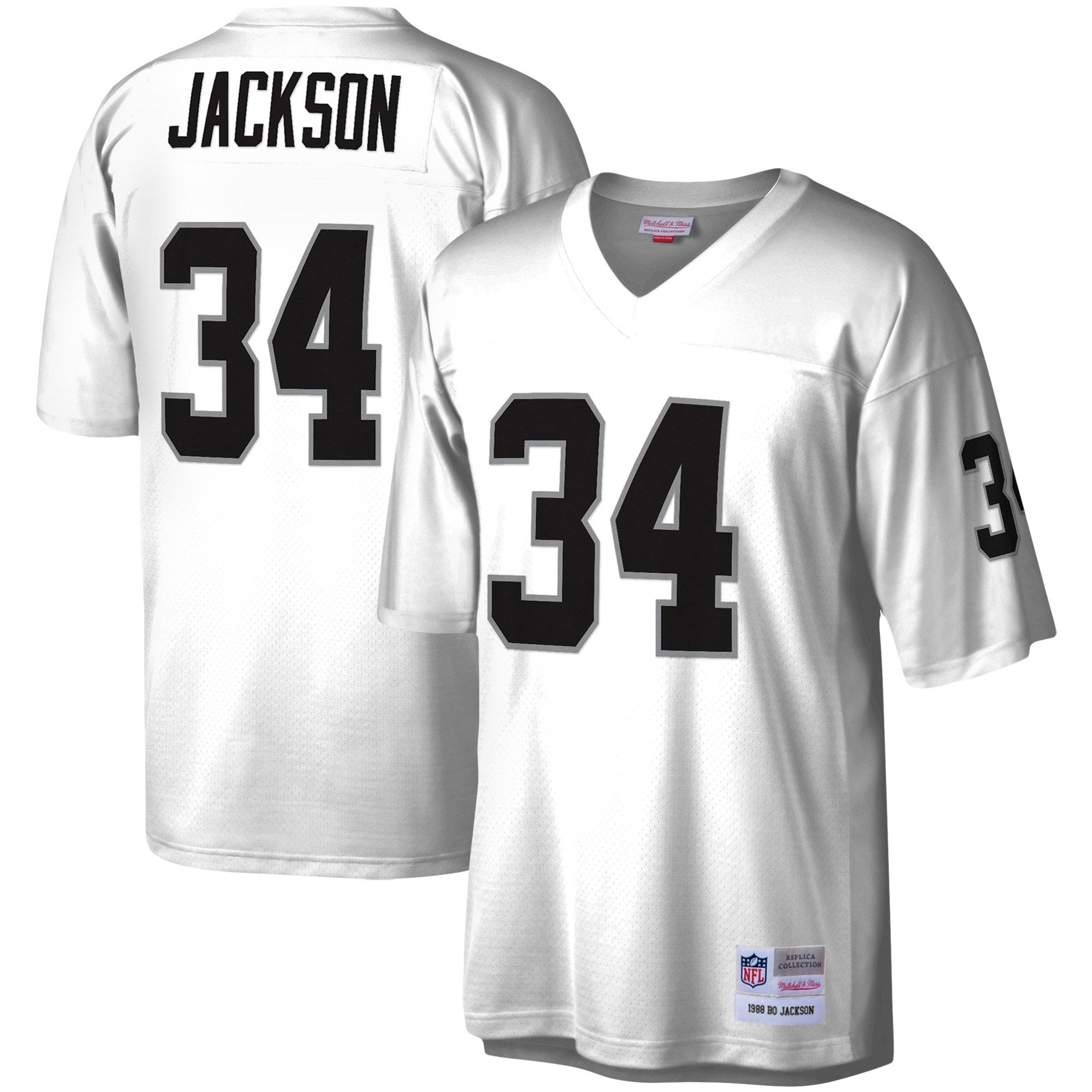 Bo Jackson Las Vegas Raiders Mitchell & Ness Legacy Replica Jersey - White