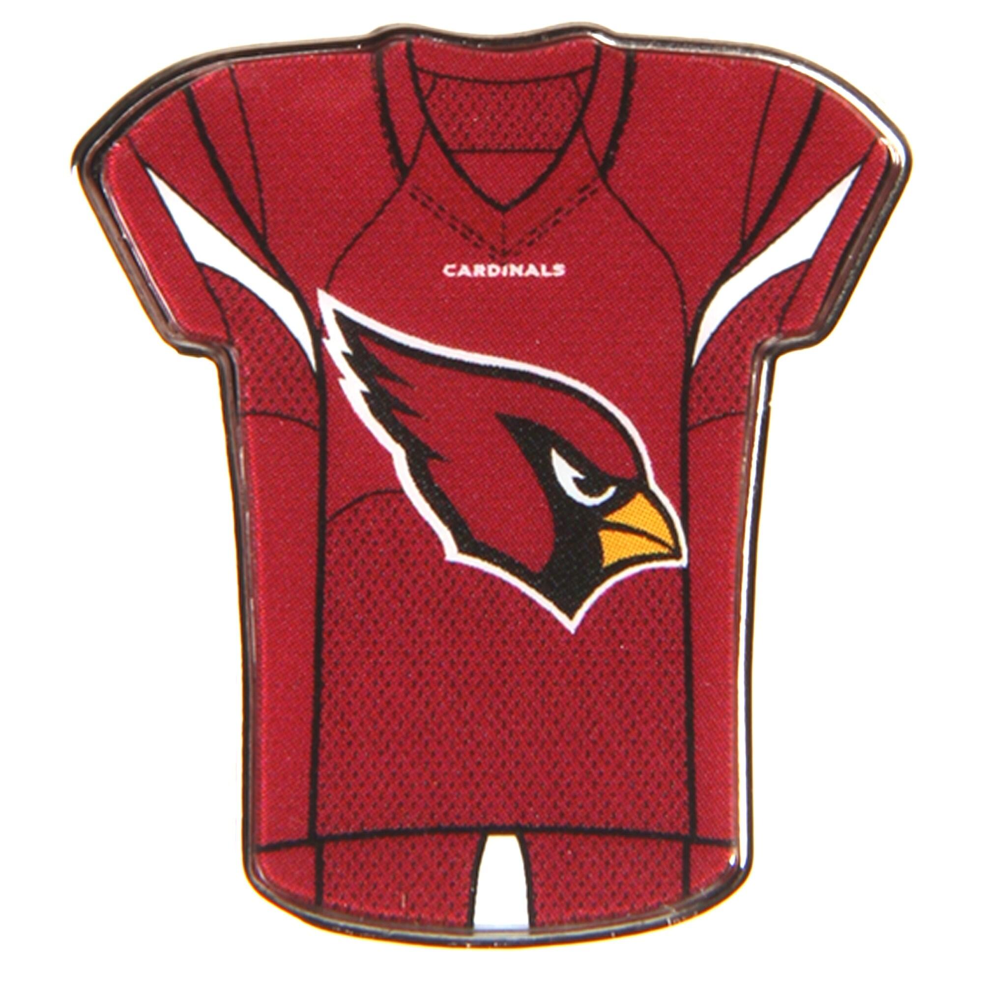 """Arizona Cardinals WinCraft 1"""" x 1"""" Jersey Pin"""