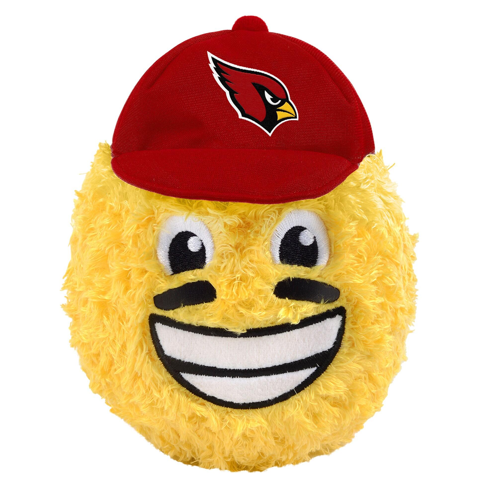 "Arizona Cardinals 5"" Eye Black Teamoji Plush Toy"