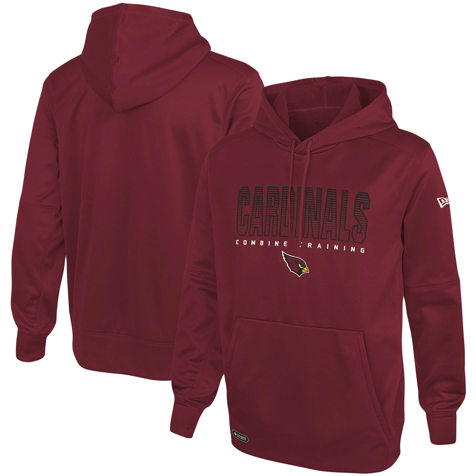 Arizona Cardinals New Era Combine Team Pride Pullover Hoodie - Cardinal
