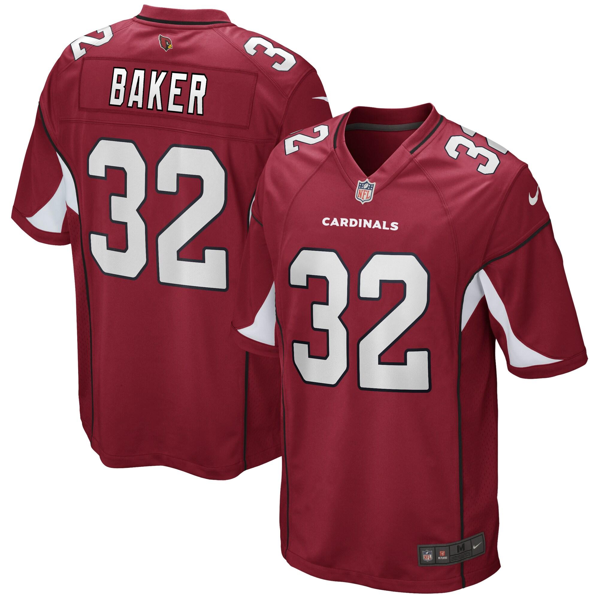 Budda Baker Arizona Cardinals Nike Game Jersey - Cardinal