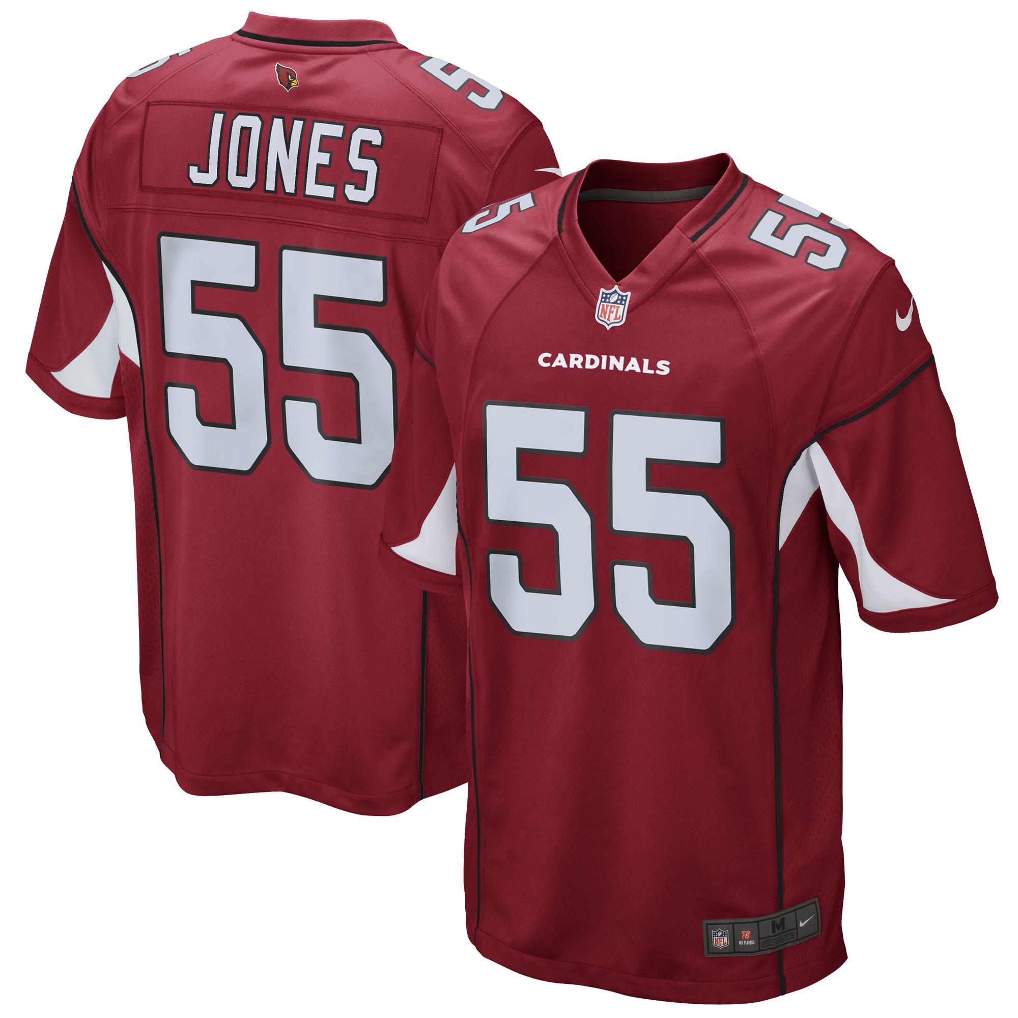 Chandler Jones Arizona Cardinals Nike Game Jersey - Cardinal