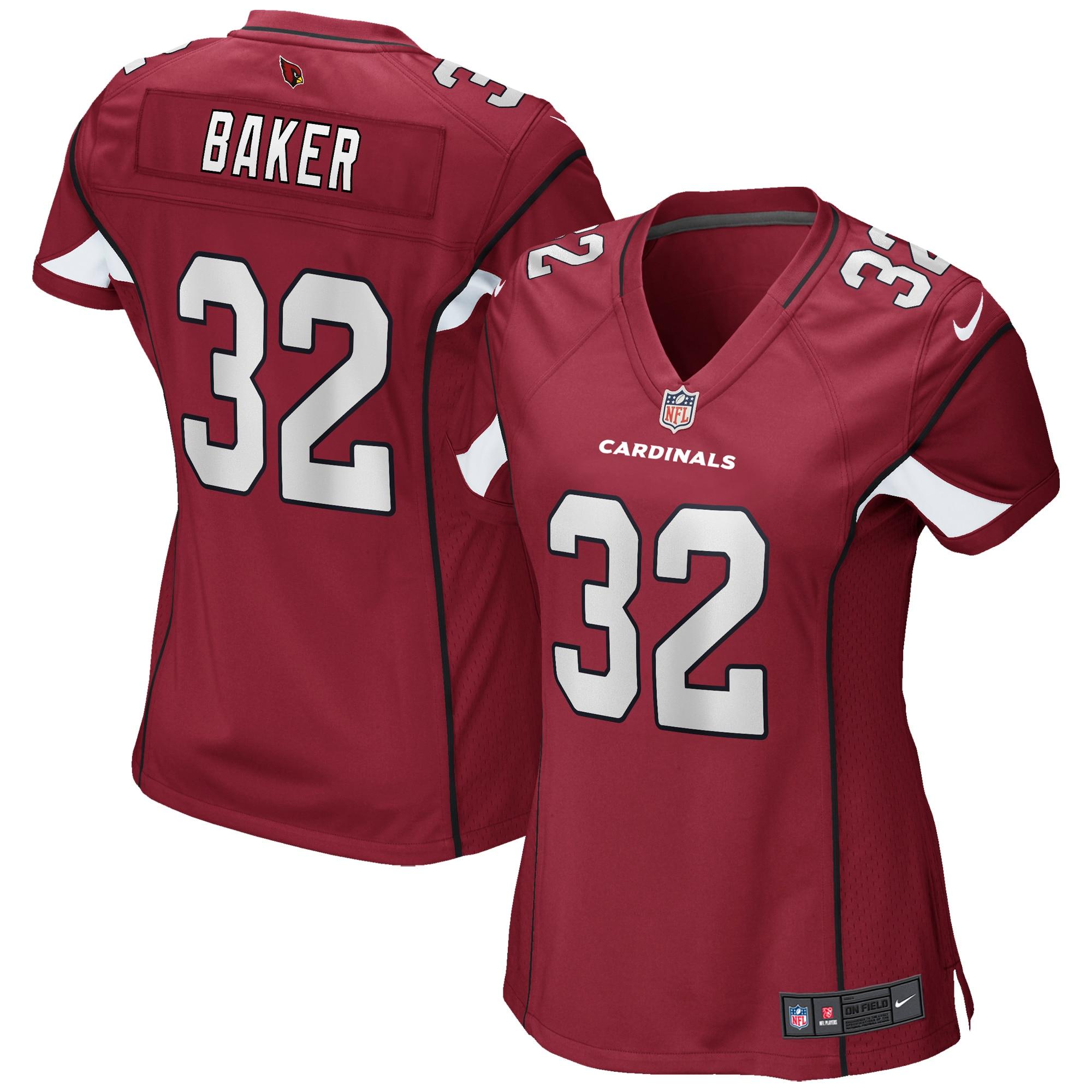 Budda Baker Arizona Cardinals Nike Women's Game Jersey - Cardinal