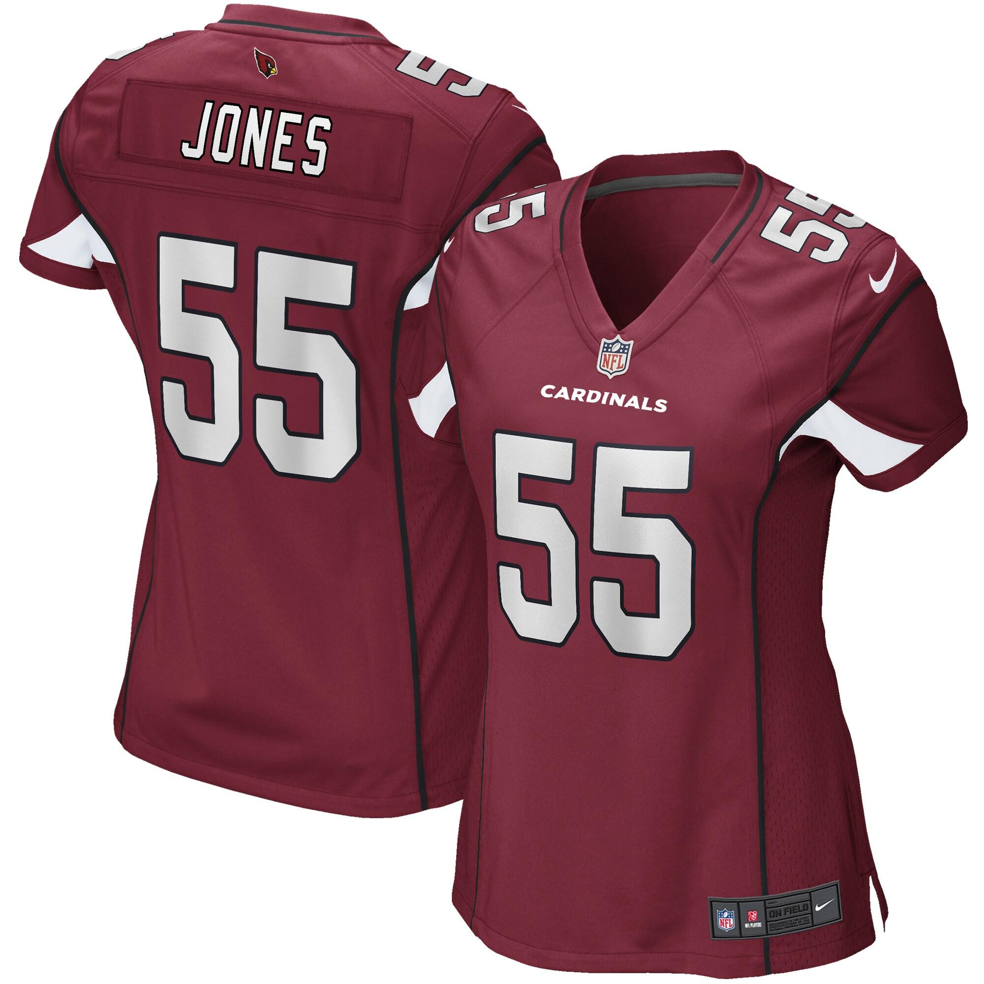 Chandler Jones Arizona Cardinals Nike Women's Game Jersey - Cardinal