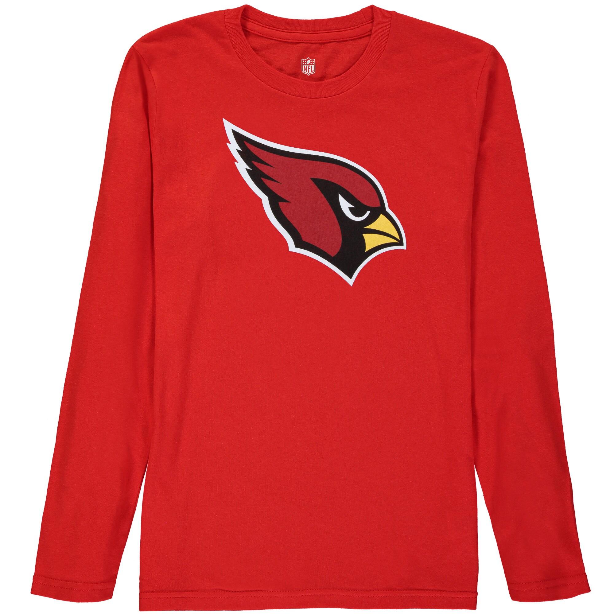 Arizona Cardinals Youth Team Logo Long Sleeve T-Shirt - Cardinal