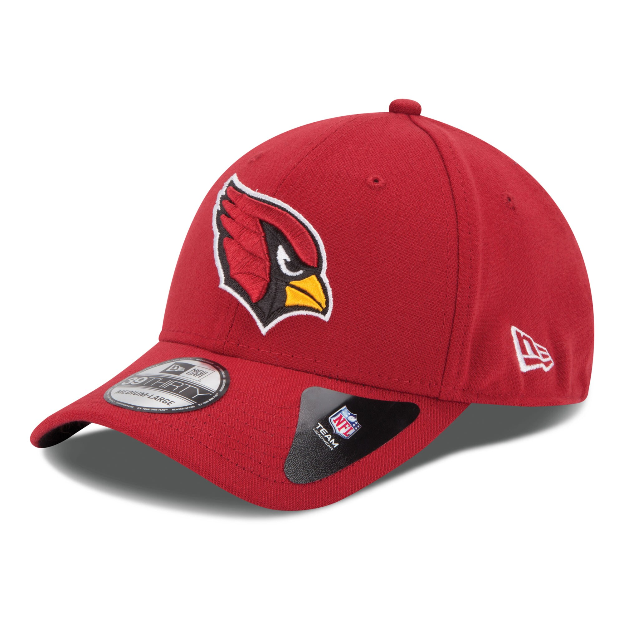 Arizona Cardinals New Era 39THIRTY Team Classic Flex Hat - Cardinal