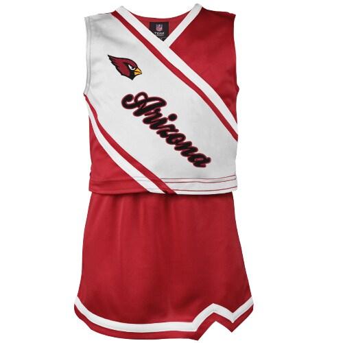 Arizona Cardinals Girls Youth 2-Piece Cheerleader Set - Cardinal