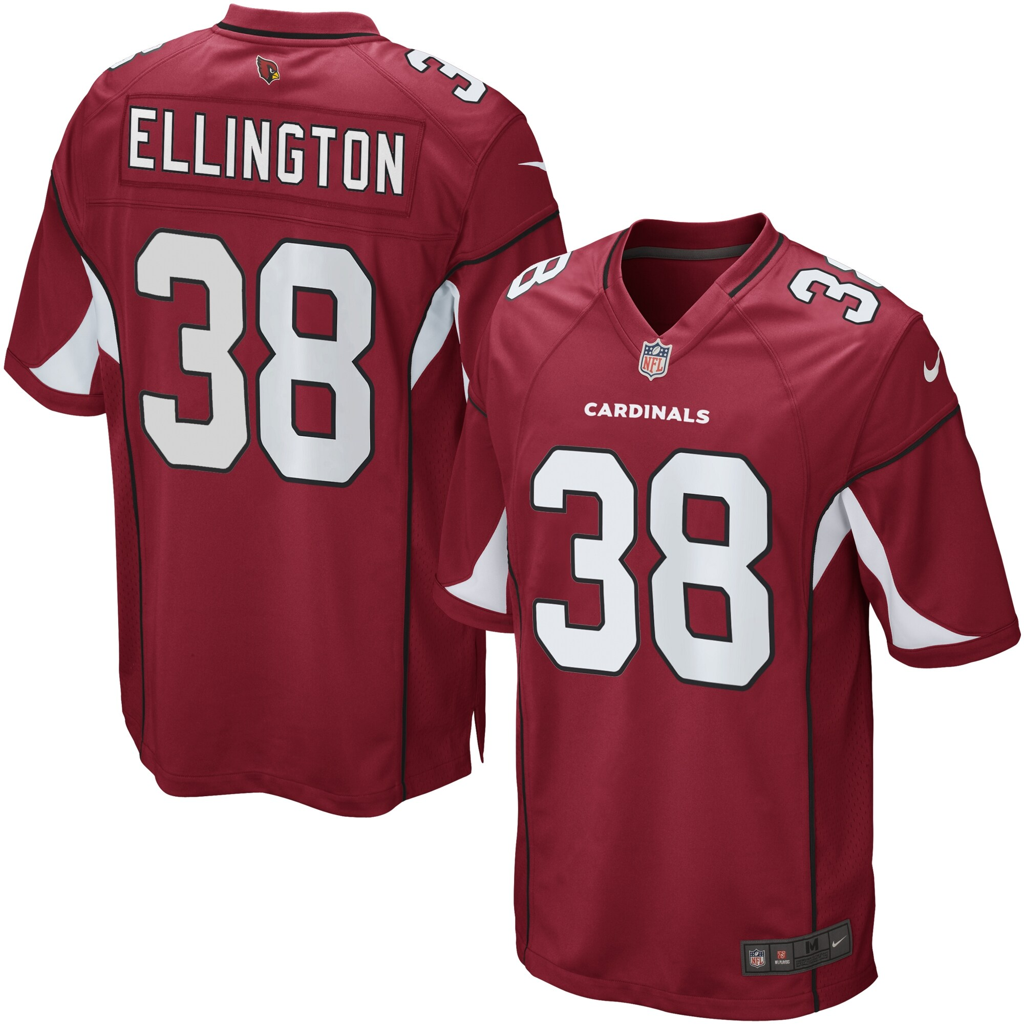 Andre Ellington Arizona Cardinals Nike Game Jersey - Cardinal