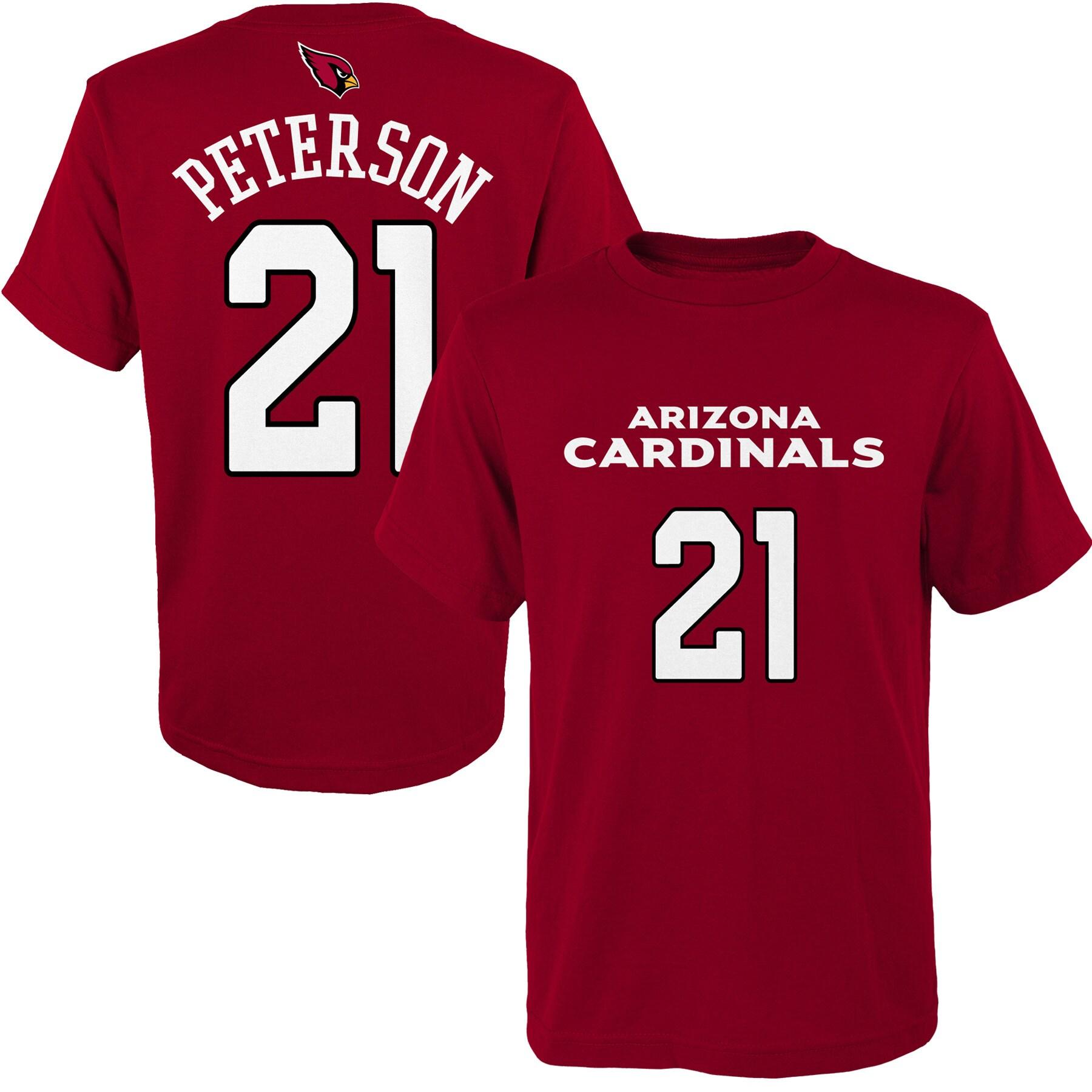 Patrick Peterson Arizona Cardinals Youth Mainliner Player Name & Number T-Shirt - Cardinal