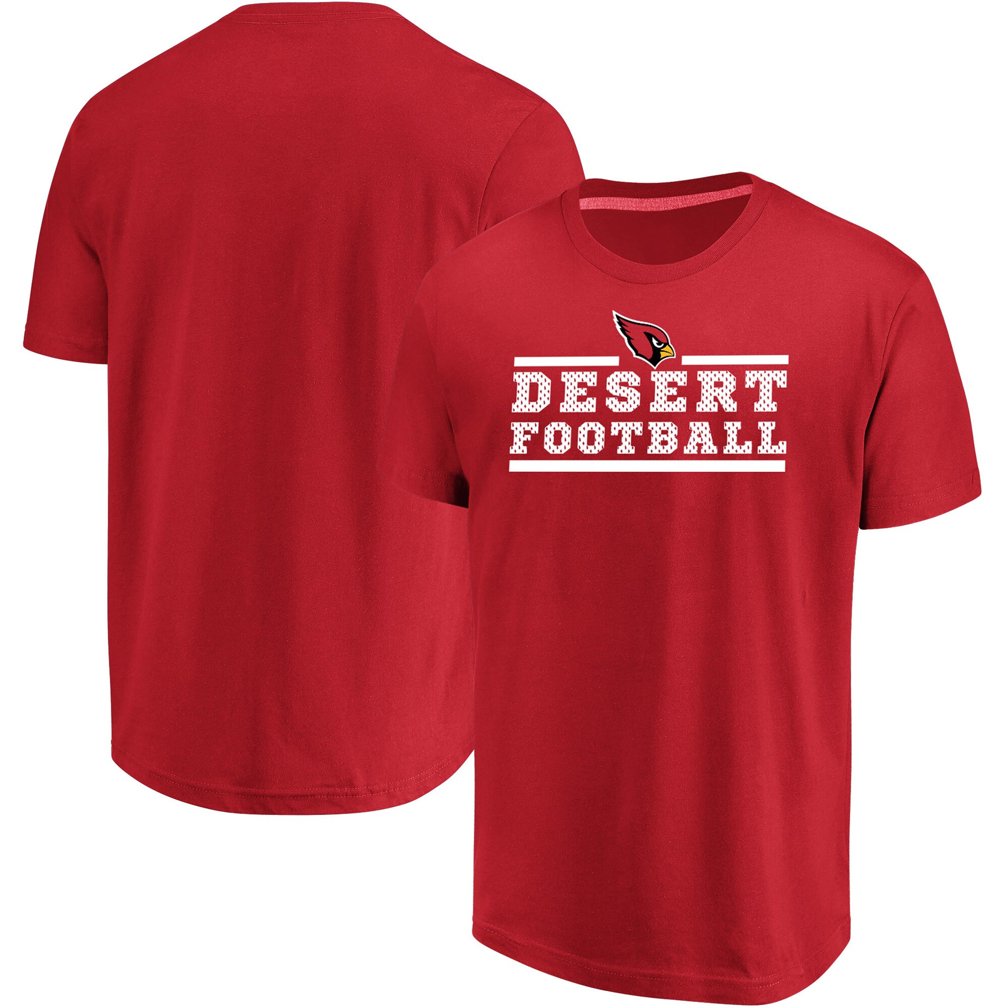 Arizona Cardinals Majestic Big & Tall Safety Blitz T-Shirt - Cardinal