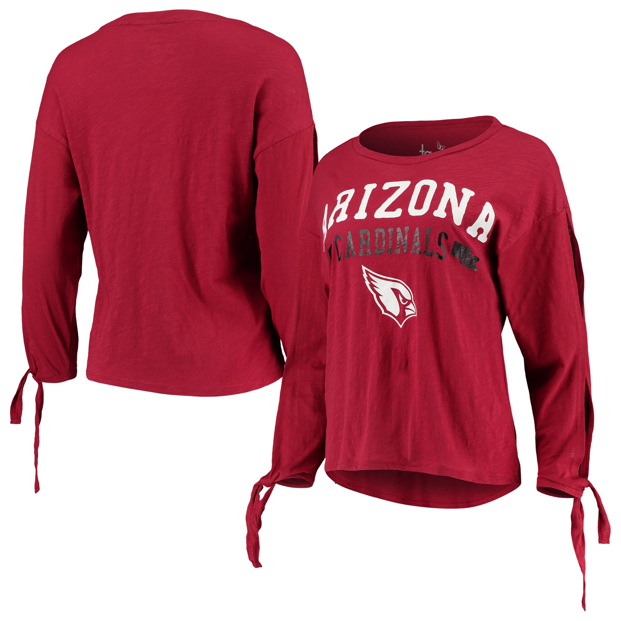 Arizona Cardinals Touch by Alyssa Milano Women's On The Fly Long Sleeve T-Shirt - Cardinal