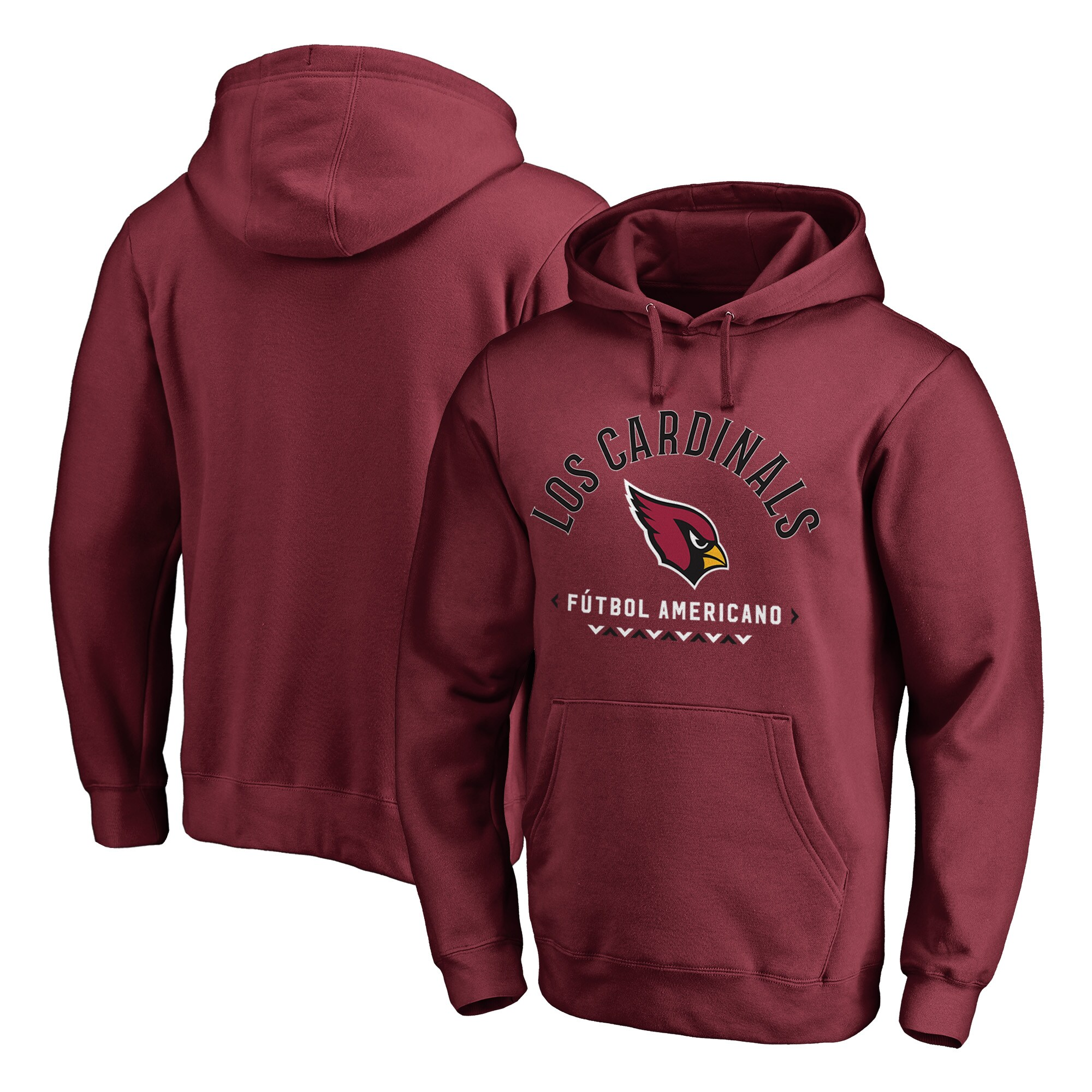 Arizona Cardinals NFL Pro Line by Fanatics Branded Futbol Americano Pullover Hoodie - Cardinal
