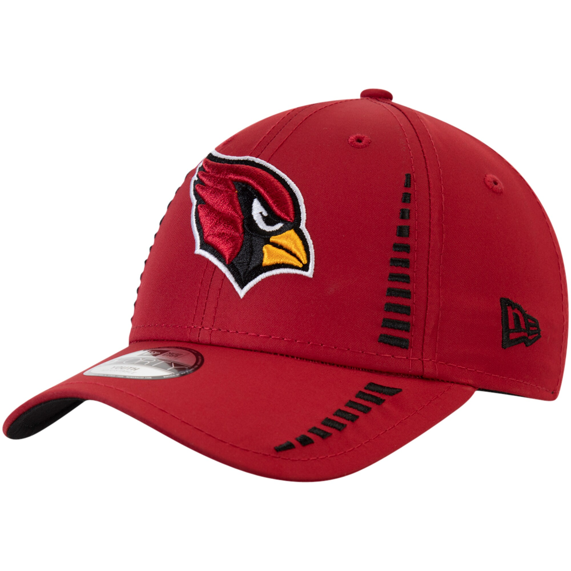 Arizona Cardinals New Era Youth Team Logo Speed 9FORTY Adjustable Hat - Cardinal