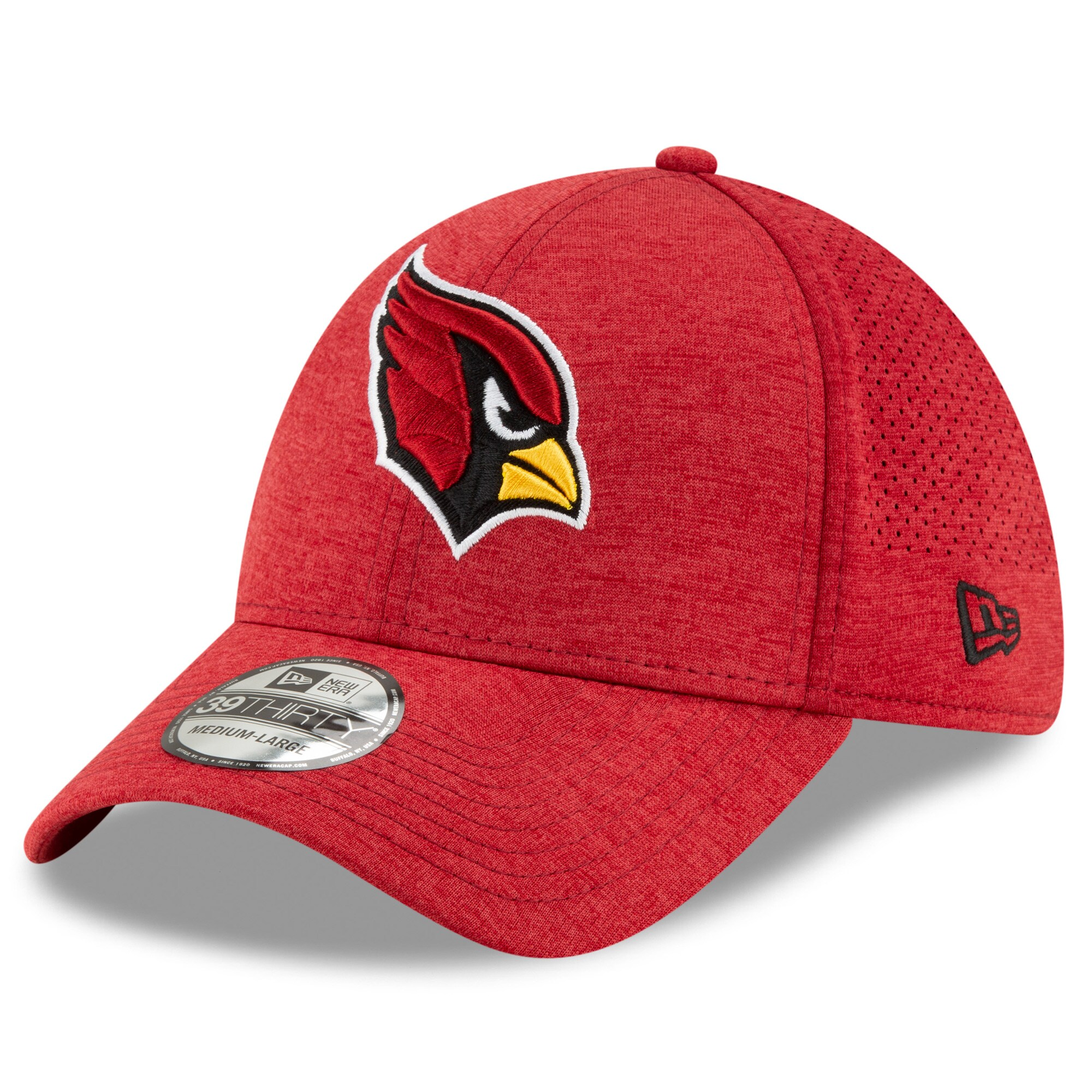 Arizona Cardinals New Era STH Perf 39THIRTY Flex Hat - Cardinal