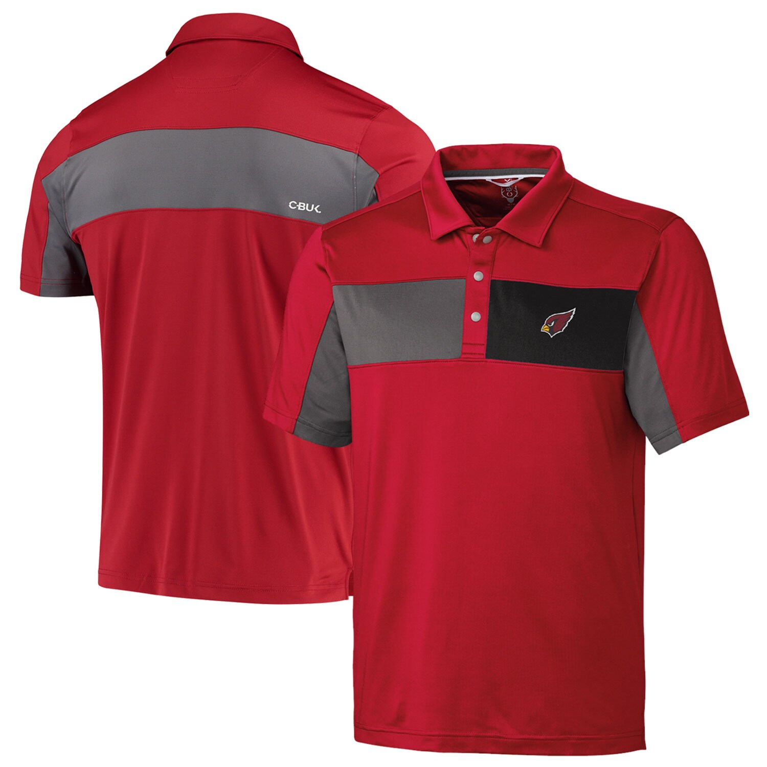 Arizona Cardinals CBUK by Cutter & Buck Logan Polo - Cardinal
