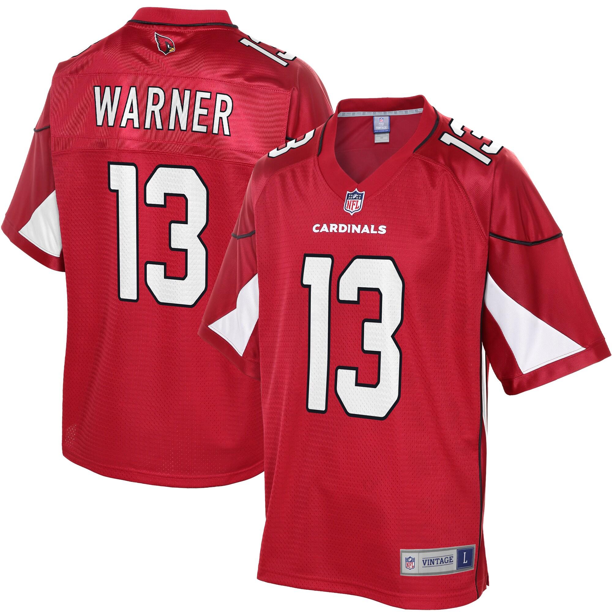 Kurt Warner Arizona Cardinals NFL Pro Line Retired Player Replica Jersey - Cardinal