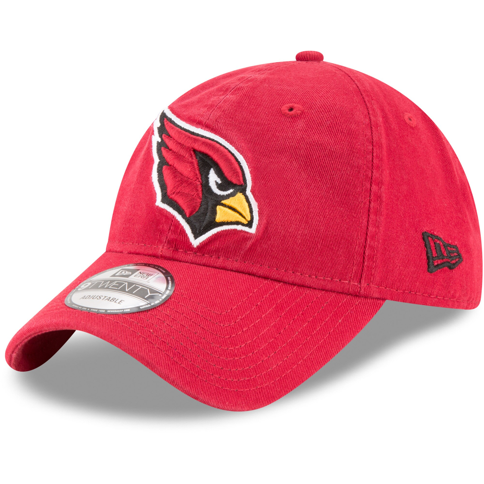 Arizona Cardinals New Era Core Classic 9TWENTY Adjustable Hat - Cardinal