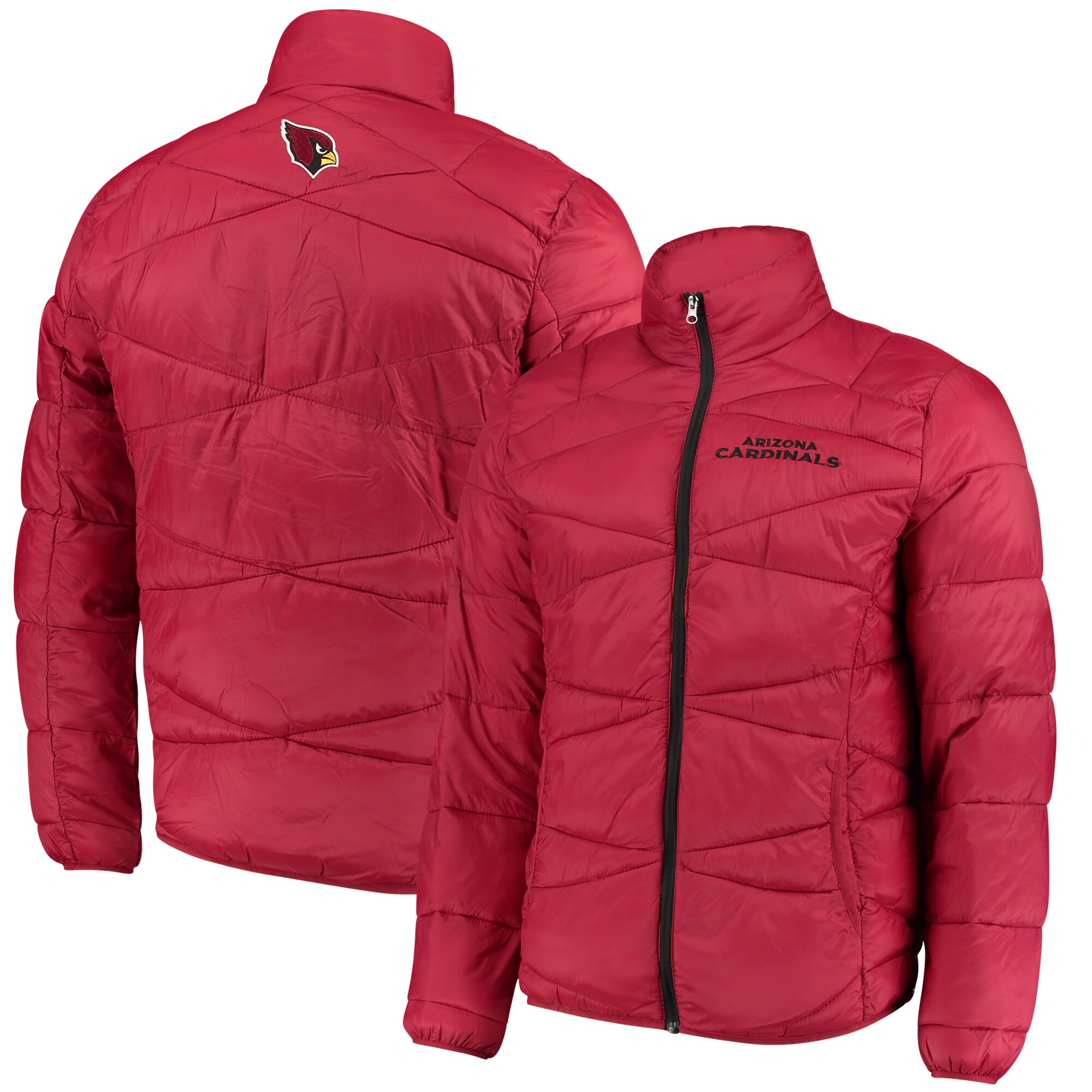 Arizona Cardinals G-III Sports by Carl Banks Blitz Packable Puffer Full-Zip Jacket - Cardinal