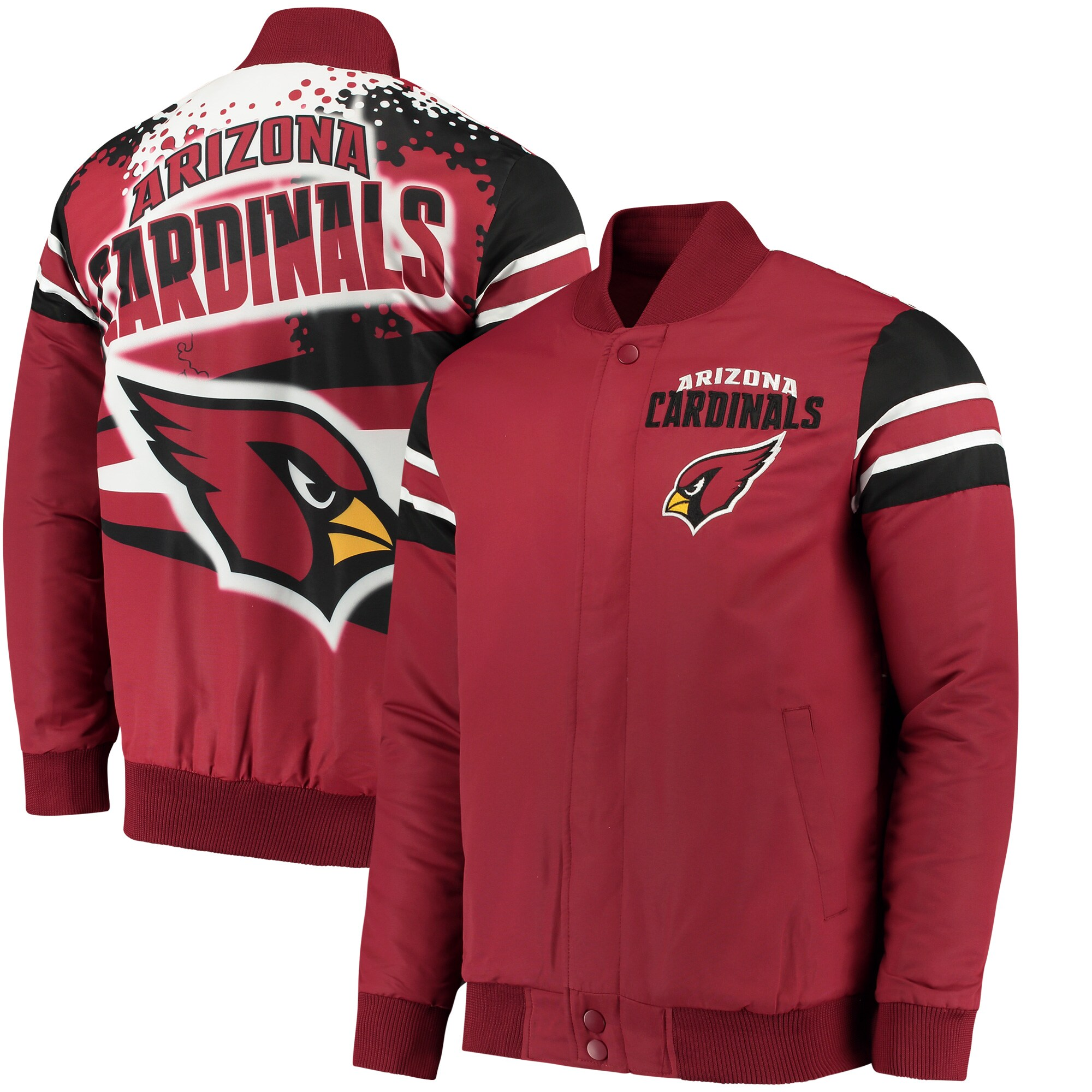Arizona Cardinals G-III Extreme Alpha Full-Snap Jacket - Cardinal