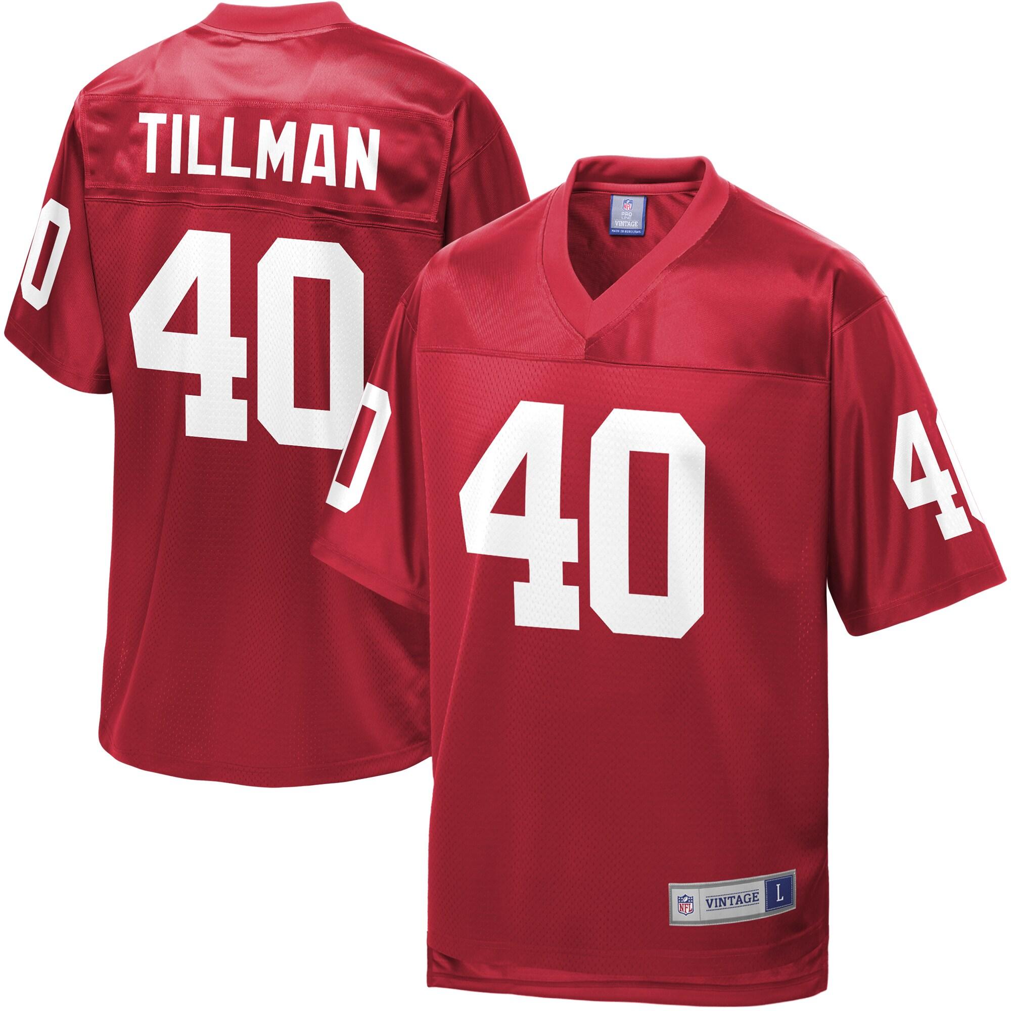 Pat Tillman Arizona Cardinals NFL Pro Line Retired Player Replica Jersey - Cardinal