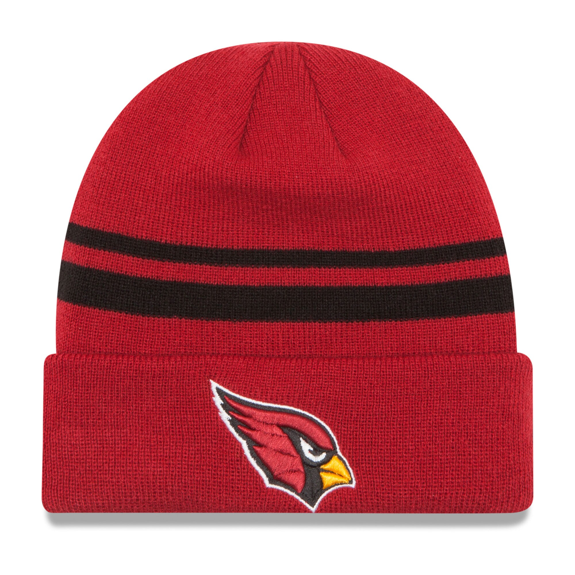 Arizona Cardinals New Era Team Logo Cuffed Knit Hat - Cardinal