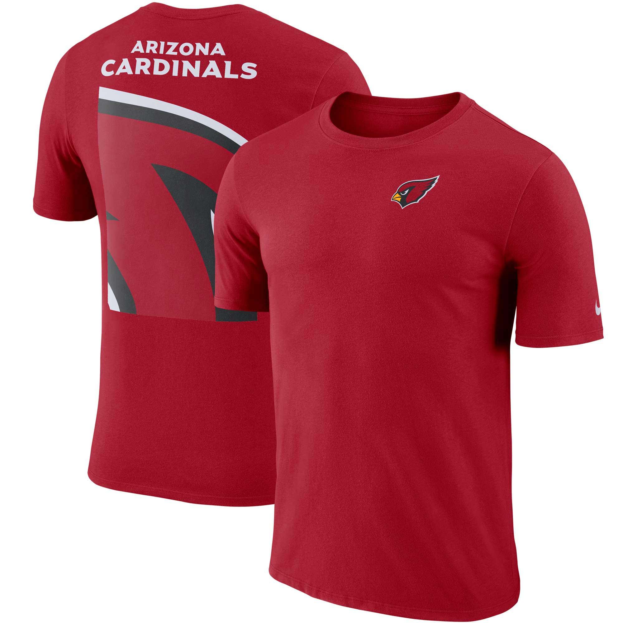 Arizona Cardinals Nike Performance Crew Champ T-Shirt - Cardinal
