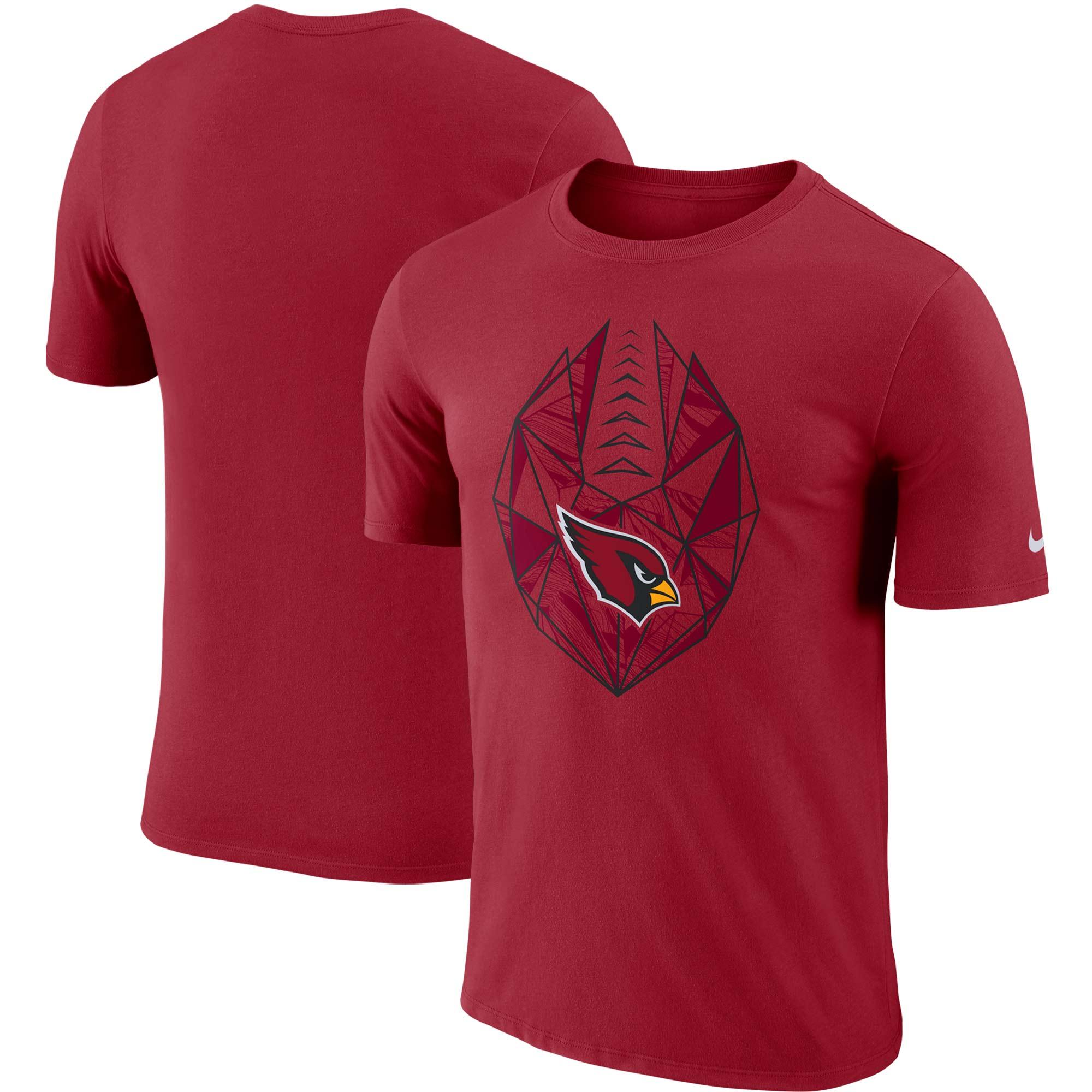 Arizona Cardinals Nike Fan Gear Icon Performance T-Shirt - Cardinal