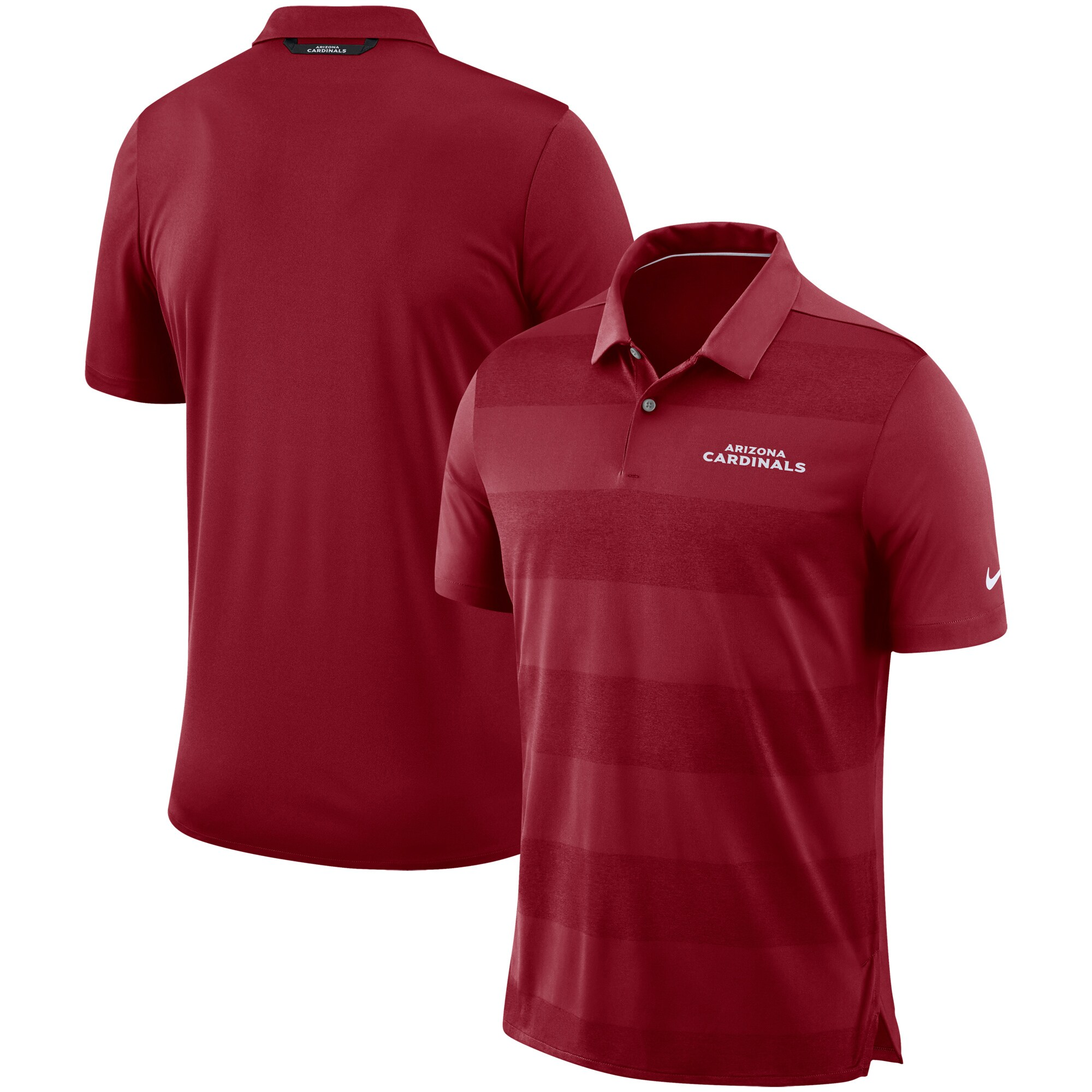 Arizona Cardinals Nike Sideline Early Season Wordmark Performance Polo - Cardinal