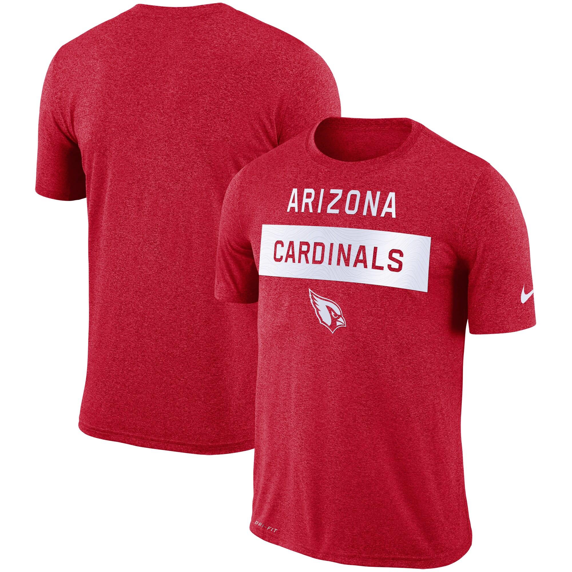 Arizona Cardinals Nike Sideline Legend Lift Performance T-Shirt - Cardinal