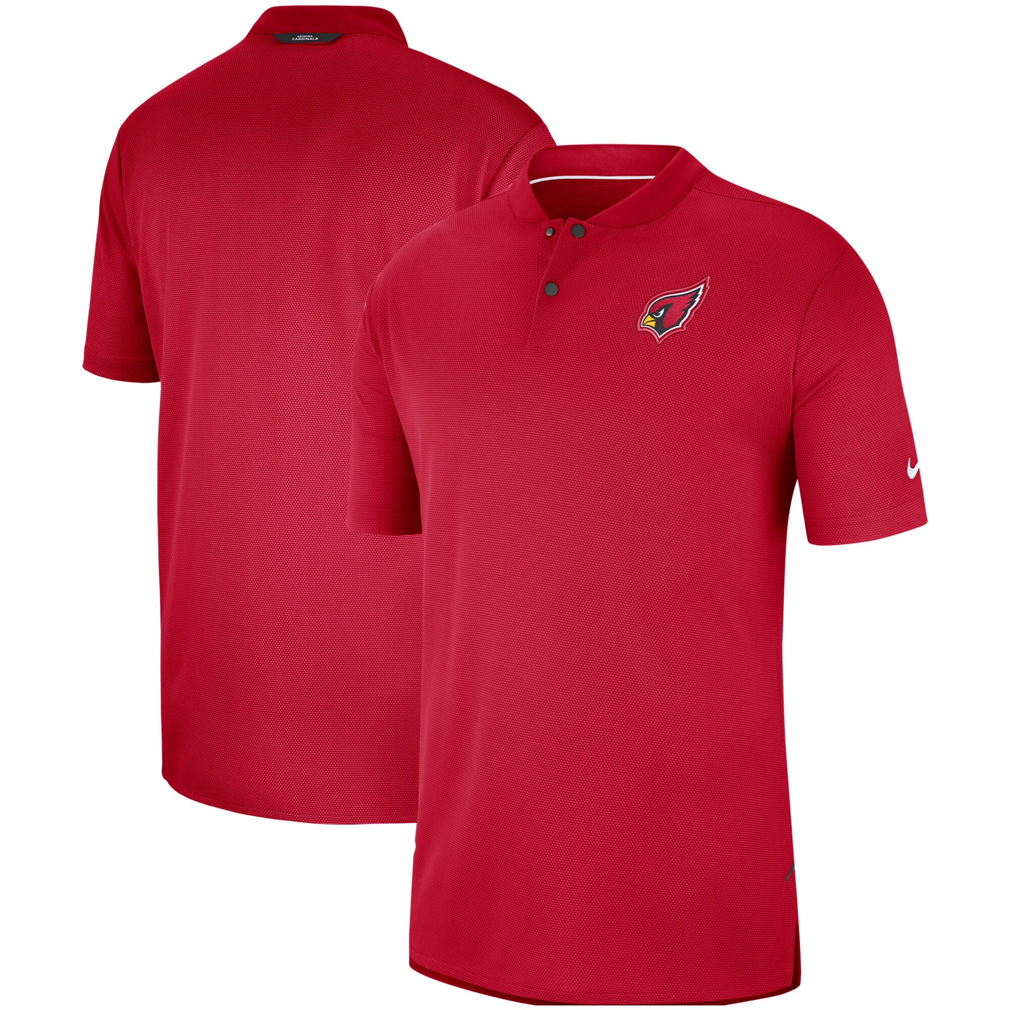 Arizona Cardinals Nike Sideline Elite Coaches Performance Polo - Cardinal