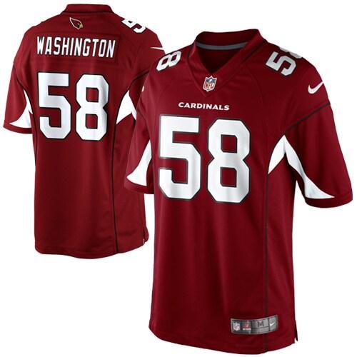 Daryl Washington Arizona Cardinals Nike Team Color Limited Jersey - Cardinal