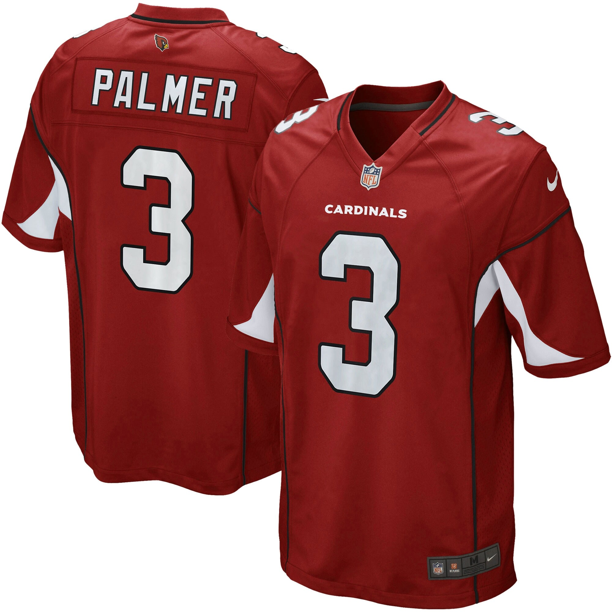 Carson Palmer Arizona Cardinals Nike Youth Team Color Game Jersey - Cardinal
