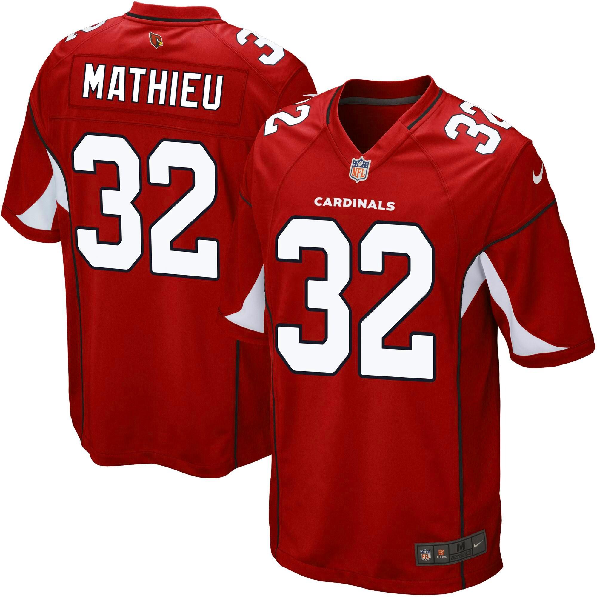 Tyrann Mathieu Arizona Cardinals Nike Youth Team Color Game Jersey - Cardinal