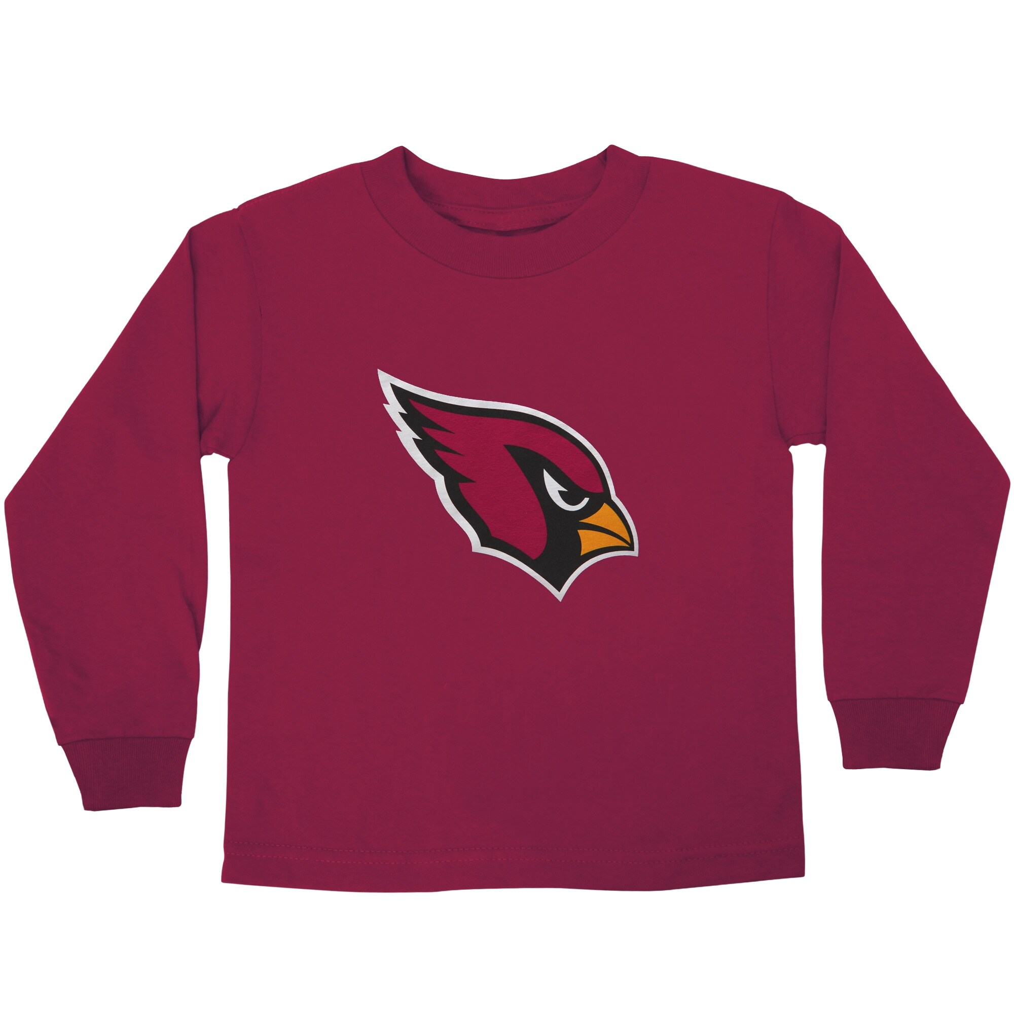 Arizona Cardinals Preschool Team Logo Long Sleeve T-Shirt - Cardinal