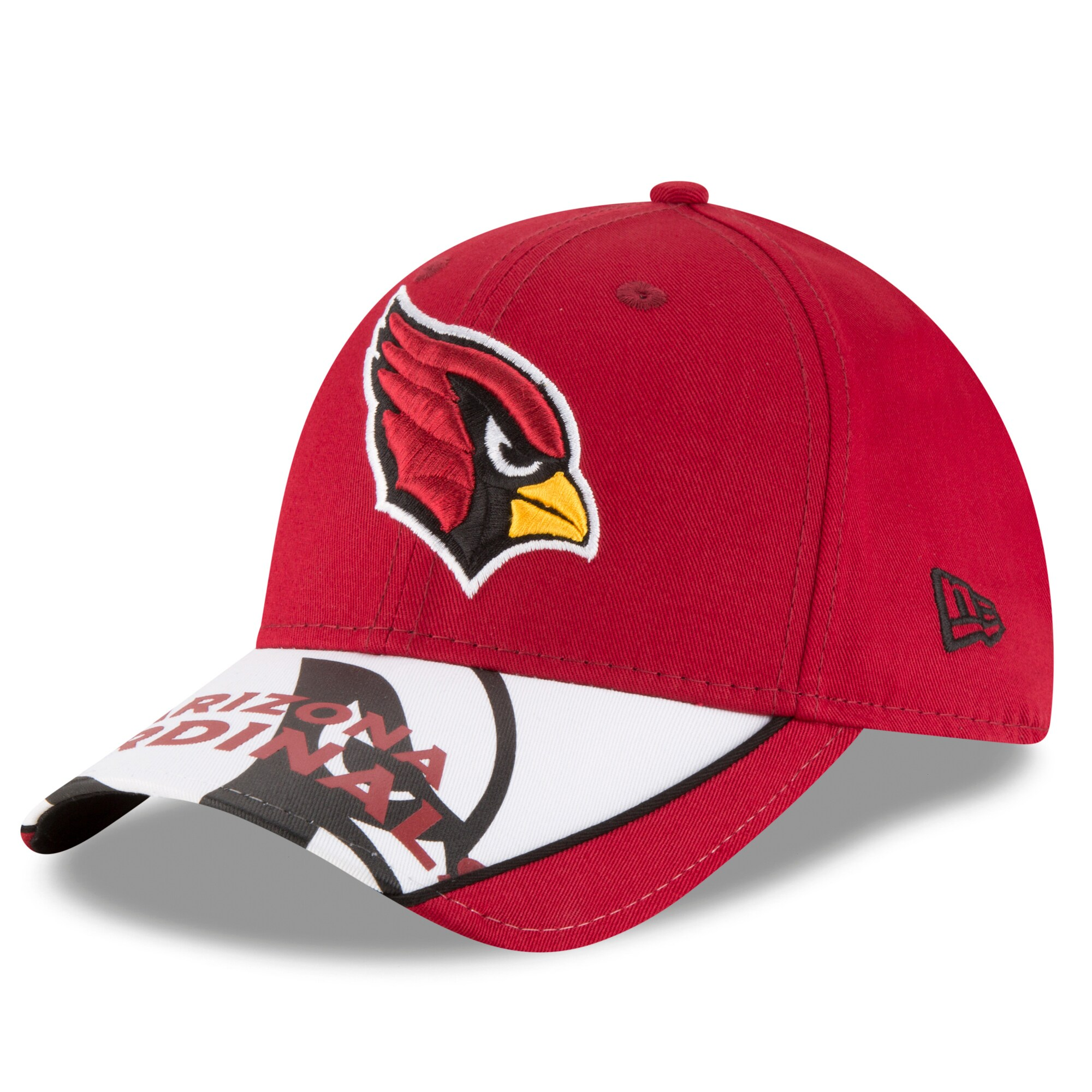 Arizona Cardinals New Era Logo Scramble 9FORTY Adjustable Hat - Cardinal