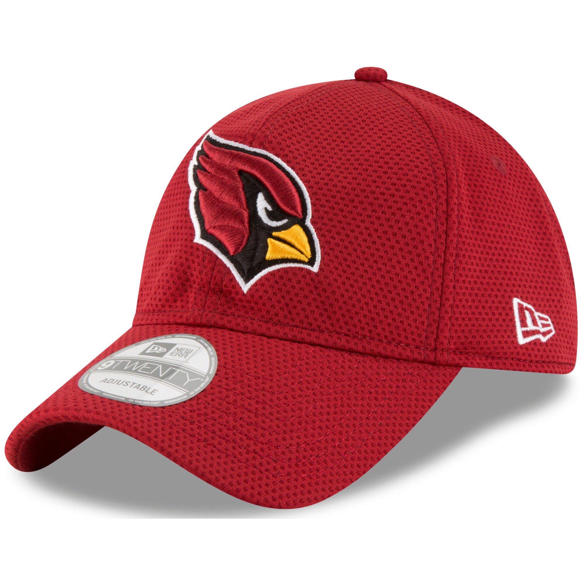 Arizona Cardinals New Era Perf Shore Training Mesh 9TWENTY Adjustable Hat - Cardinal