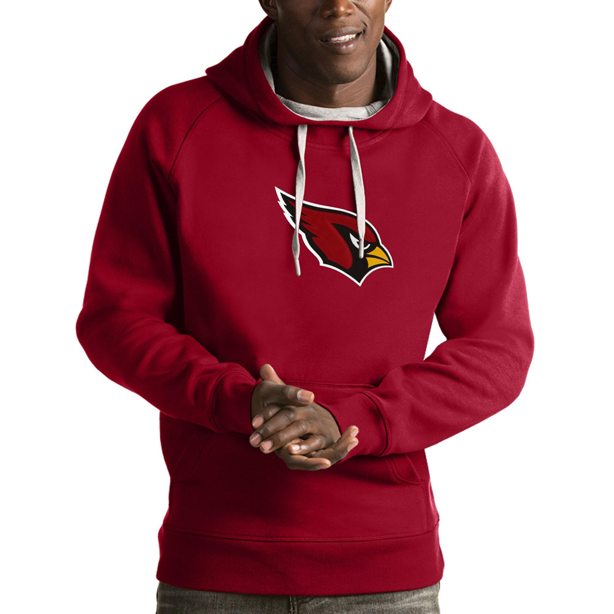 Arizona Cardinals Antigua Victory Pullover Hoodie - Cardinal