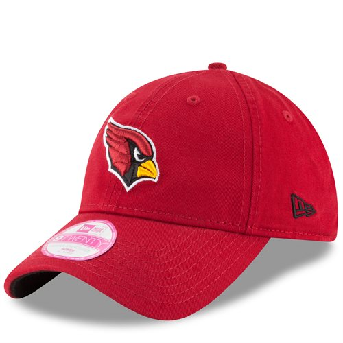 Arizona Cardinals New Era Women's Preferred Pick 9TWENTY Adjustable Hat - Cardinal