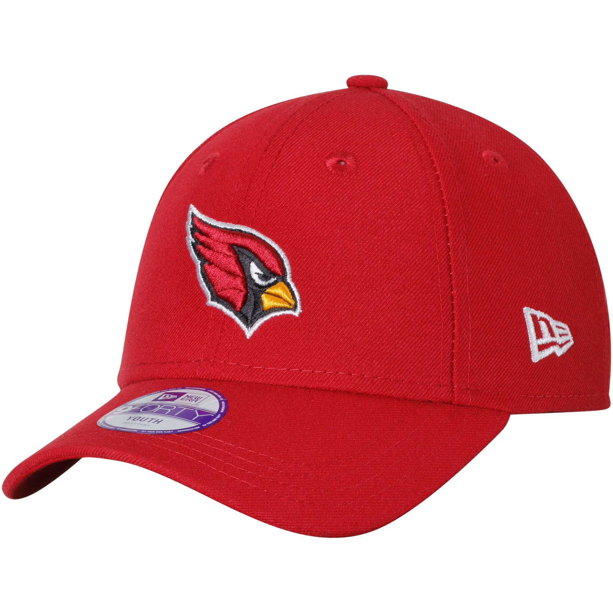 Arizona Cardinals New Era Youth League 9FORTY Adjustable Hat - Cardinal